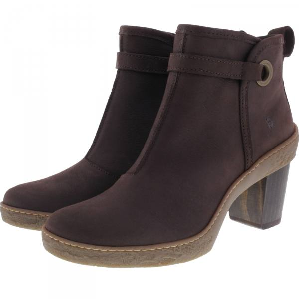 El Naturalista / Modell: NF71 Lichen / Farbe: Pleasent Brown Leder / Damen Stiefeletten
