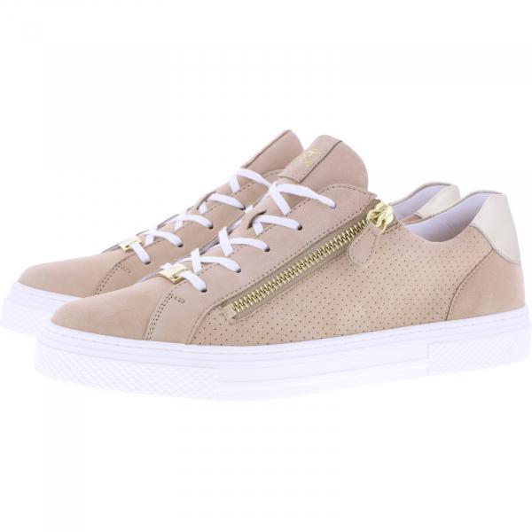 Hassia / Bilbao / Cotton-Beige Leder / Wechselfußbett / Art: 1-301236-0800 / Damen Sneakers