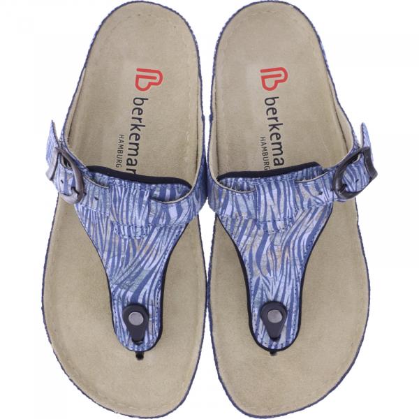 Berkemann / Modell: Mila / Brush Stoke Jeans / Leisten: Caldera / Art: 01351-356 / Damen Zehensteg