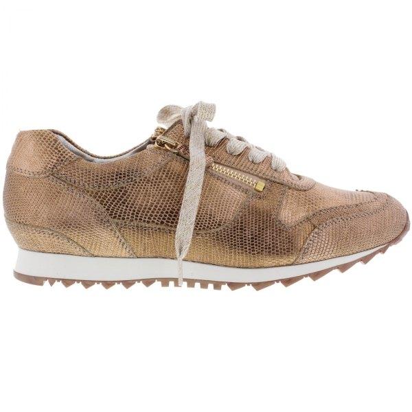 Hassia / Barcelona / Roségold Leder / Wechselfußbett / Art: 3-301915-7100 / Damen Sneaker
