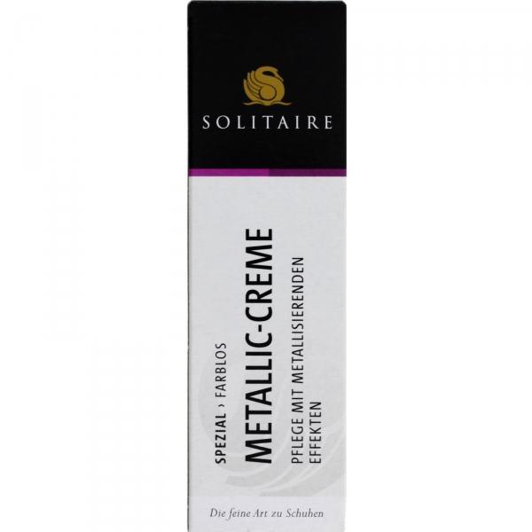 Solitaire / Metallic Creme / 50ml Tube mit Schwammaufträger