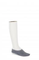 Birkenstock Damen Socken - Cotton Sole Invisible - Grau Melange 36-38 EU
