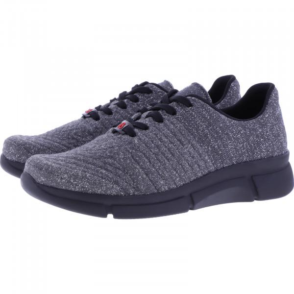 Berkemann Comfort Knit / Modell: Pinar / Dunkelgrau/Glitzer / Form: Marbella / Art 05115-613 / Damen
