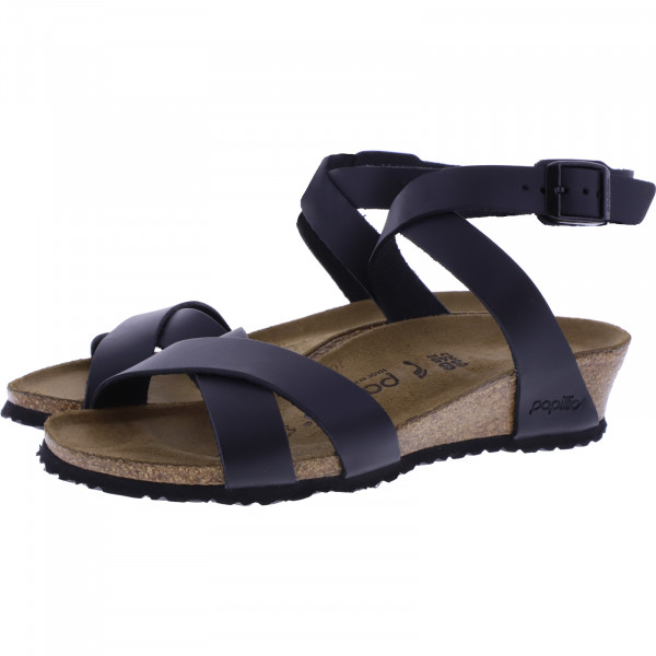 Papillio / Modell: Lola / Schwarz Leder / Art: 1013160 / Damen Sandaletten