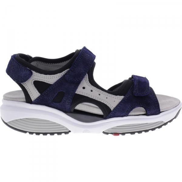 Xsensible Stretchwalker / Modell: Chios / Blau-Beige / Leder / Art: 300501-201 / Damen Sandalen