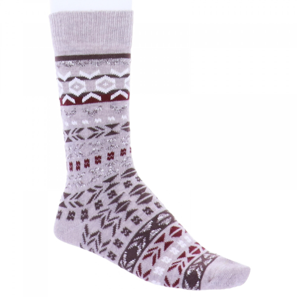 Birkenstock Herren Socken - Cotton Jacquard - Camel Melange
