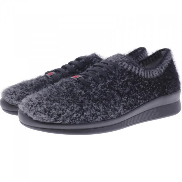 Berkemann Comfort Knit / Modell: Alexa / Schwarz-Hellgrau / Form: Barcelona / Art: 05162-667 / Damen