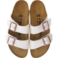 Birkenstock / Modell: Arizona / Graceful Pearl White / Weite: Schmal / Art: 1009921 / Damen