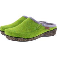 Hartjes / Modell: Feel Good / Kiwi Wolle/Lammfell / Weite: G / 5220873-7100 / Damen Filzhausschuhe