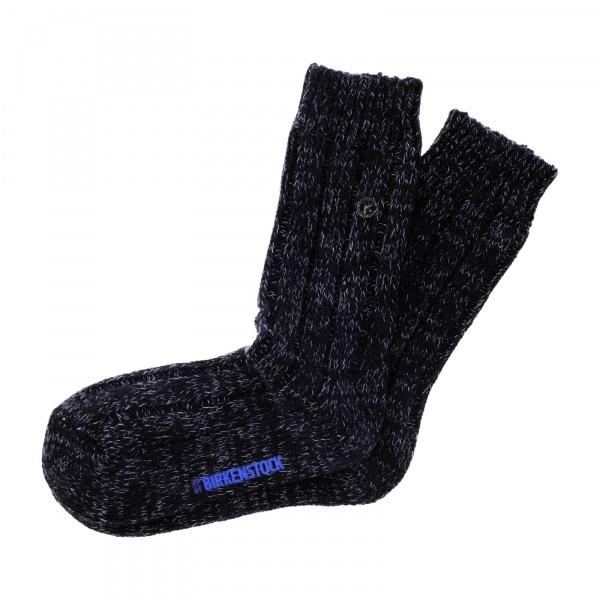 Birkenstock Herren Socken - Cotton Twist - Schwarz Meliert