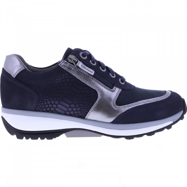 Xsensible Stretchwalker / Modell: Wembley / Navy/Metal / Art: 301032-249 / Damen Sneakers