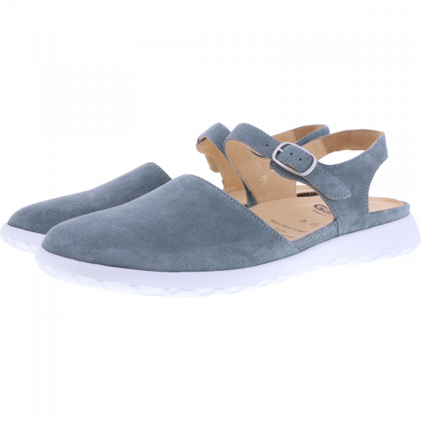 Ganter / Gabby / Salvia Blau Leder / Weite: G / Leder / Art: 9-203042-5100 / Damen