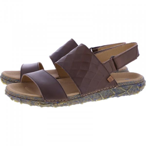 El Naturalista / Modell: N5508 Redes / Farbe: Vaquetilla Brown Leder / Damen Sandalen