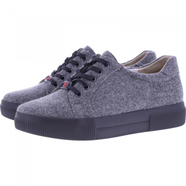 Berkemann / Modell: Fae Recycled / Dunkelgrau / Form: Capri / Art: 05001-614 / Damen Sneakers