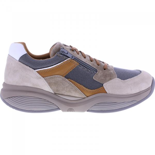 Xsensible Stretchwalker / Modell: SWX14 / Taupe / Leder-Textil / Art: 300881-501 / Herren Sneakers