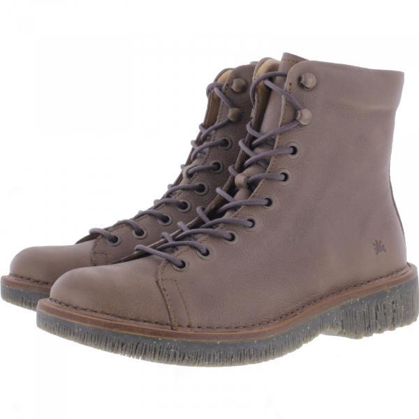 El Naturalista / Modell: N5572 Volcano / Farbe: Soft Grain Plume Taupe Leder / Damen Stiefelette