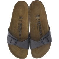 Birkenstock / Modell: Madrid / Pull Up Anthracite BF / Weite: Schmal / Art: 1000341 / Damen