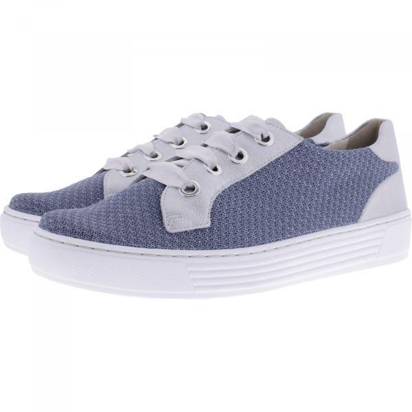 Solidus / Hazel / Taubenblau Soliknit-Leder / Weite: H / 37018-80215 / Damen Sneakers