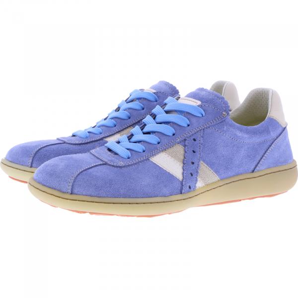 OnFoot / Modell: Citrus / Farbe: Jeans Blau Leder / Art.: 14003 / Damen Sneakers