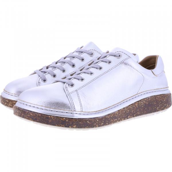 Birkenstock / Modell: San Diego / Silver Leder / Weite: Normal / Art: 1016256 / Damen Schuhe