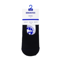 Birkenstock Herren Socken - Cotton Sole Invisible - Schwarz
