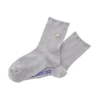 Birkenstock Damen Socken - Cotton Sole Bling - Hellgrau