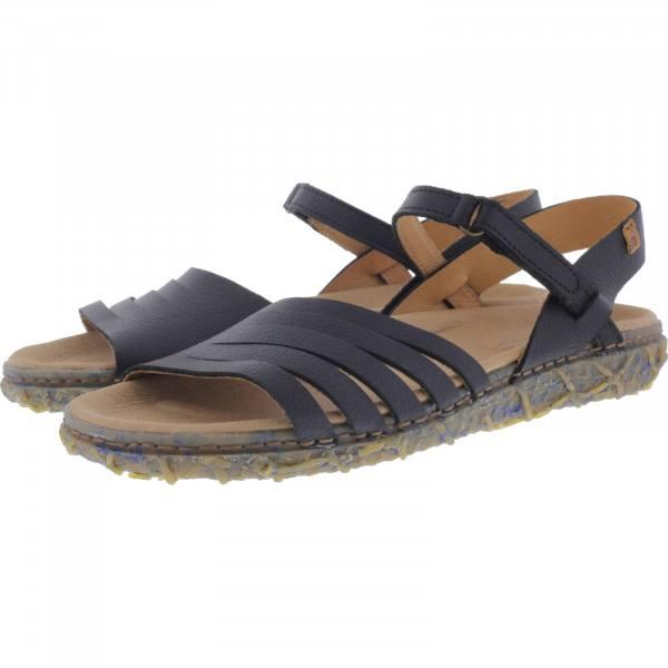 57944ac58c95 El Naturalista / Modell: N5501 Redes / Farbe: Soft Grain Black Leder /  Damen Sandalen