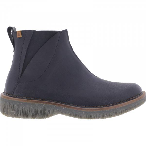 El Naturalista / Modell: N5570 Volcano / Farbe: Soft Grain Black Leder / Damen Stiefelette