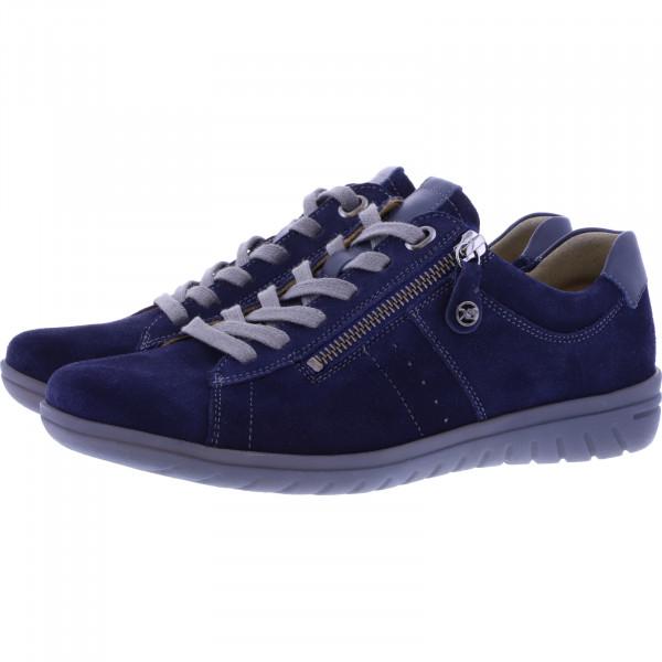 Hartjes / Modell: XS Casual / Dunkelblau Leder / Weite: G / 88162-4747 / Damen Sneakers