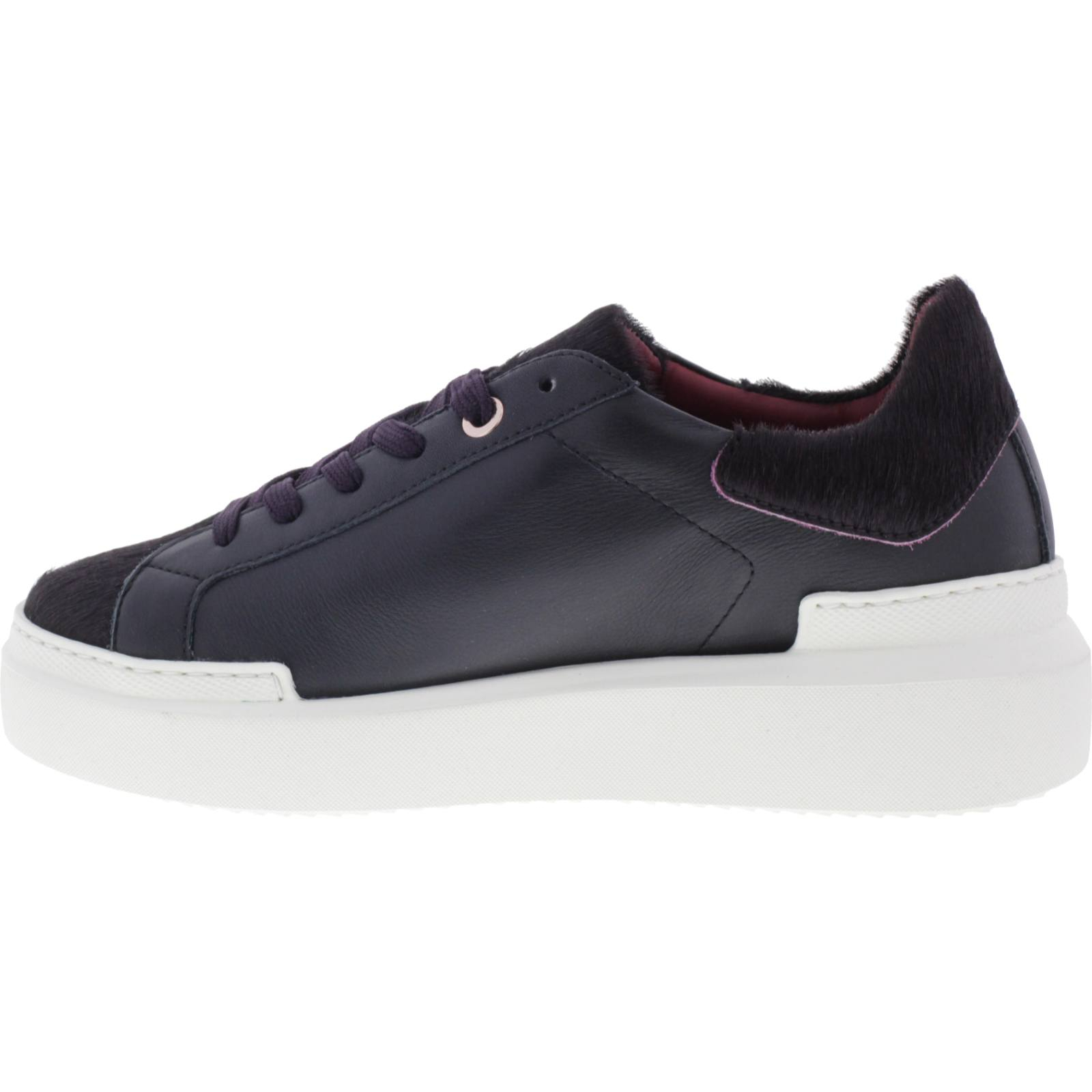 Sarah/Bordeaux Samt/Wechselfußbett Ed Parrish Sneakers/Modell Damen Sneakers
