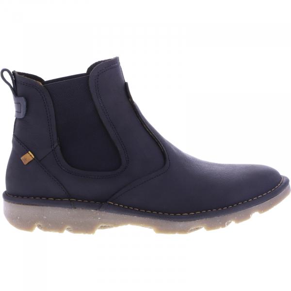 El Naturalista / Modell: N5742 Forest / Farbe: Pleasent Black Schwarz Leder / Herren Chelsea Boots