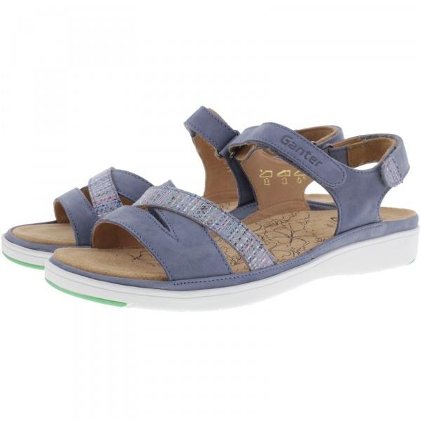 Ganter / Gina / Jeans-Sky Kalbsleder / Wechselfußbett / Weite: G / Art: 3-200112-3438 / Damen