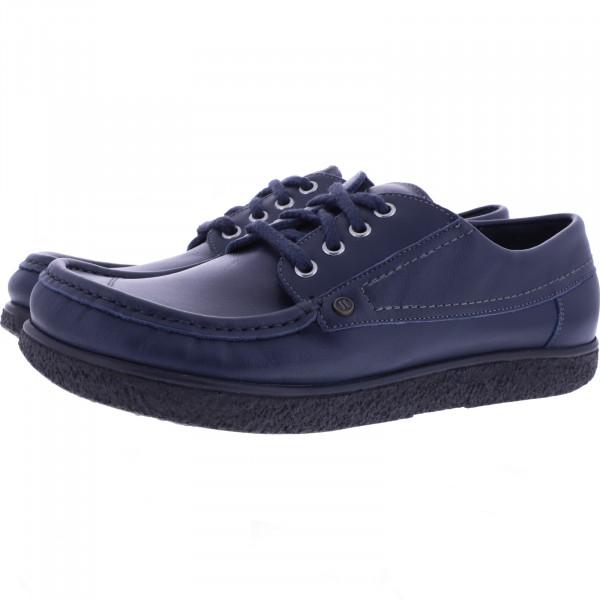 Jacoform / Modell: 350 / Farbe: Blau Glattleder / Unisex Schnürer