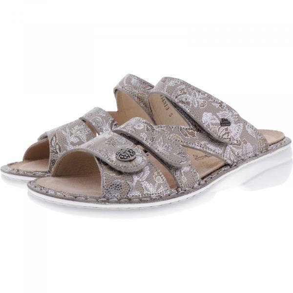 Beamten wählen elegantes Aussehen verschiedene Farben Finn Comfort / Ventura-Soft / Sand-Gold / Wechselfußbett / Art:  82568-562051 / Damen Pantoletten