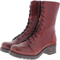 Brako / Modell: Military Bolero / Rojo Rot Leder / Stiefel / Art: 8470 / Damen
